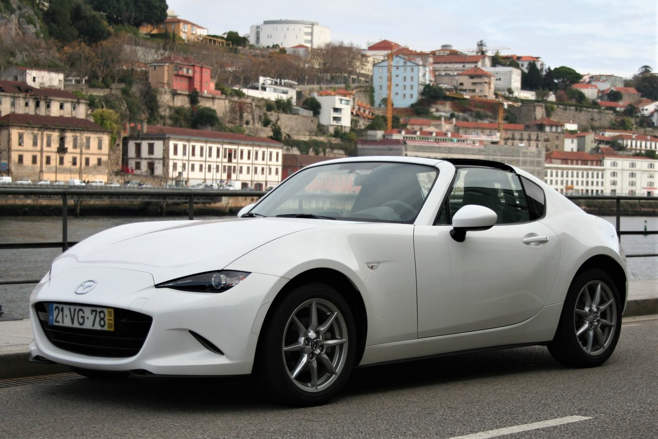 Mazda MX5 RF Evolve HS Navy